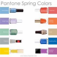 Pantone Spring 2014 Colors - The Nail Polish Edition - beautyXposé « beautyXposé