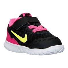 Baby Girls Shoes Girls Toddler Nike Flex Experience 4 Running Shoes Size 8  NIB…