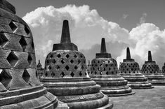 Stupas - null Borobudur Temple, Asian Games, Buddhist Temple, Yogyakarta, Burj Khalifa, Pilgrim, Southeast Asia, Buddhism, Remote