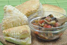 Hojaldre Relleno de Verduras --> Puff pastry stuffed with vegetables
