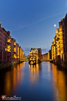 ✮ Wasserschloss, Hamburg, Germany