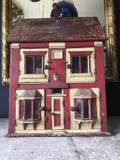 Antique Scratch Built Dolls House | eBay