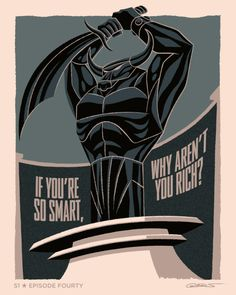 """Sketch for Episode 40 of Batman The Animated Series """"If you're so smart, why aren't you rich?"""" by George Caltosudas"""