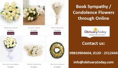 Book Sympathy and Condolence Flowers with just a finger click: Sympathizing with a loved one during their tough times is one of the noblest things to do. You can help someone during their sad moments and show them light during the phase of darkness.