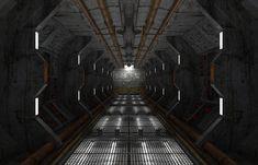 http://lonnyfoster.com/images/graphic_art/spaceship_corridor.jpg