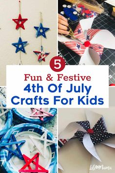 Bring out the Independence Day spirit with these fun and festive 4th of July crafts for kids! They're a great way to celebrate the holiday with your family. We also share substitutions for any supplies you don't have. | #lifeasmama #july4th #4thofjuly #fourthofjuly #independenceday #crafts #diy #kidscrafts