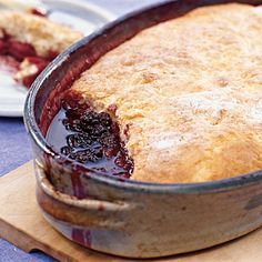 Try this Berry Cobbler with a scoop of vanilla ice cream. For more dessert recipes, visit www.coastalliving.com
