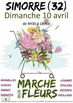 affiche Marché aux fleurs
