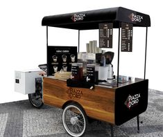 Piaggio Ape, Coffee To Go, Hot Dogs