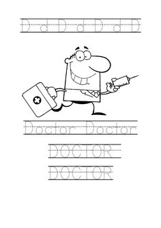 doctor coloring pages for preschool - bandage band aid pattern http online preschool
