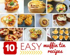 10 Easy muffin tin r