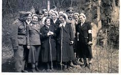 The reverse mentions a group picture as a momento. Suggests that this was the team of a small hospital German Girls, German Women, History Of Germany, The Third Reich, Nurse Gifts, Red Cross, World War Two, Ww2, Ukraine