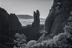 The Rabbit Ears from Hiline Trail, Infrared
