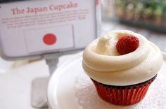 マグノリアベーカリーから「ザ・ジャパン・カップケーキ」--売上金の一部を被災地へ寄付