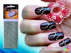The nail art company smart nails music nail art stencil set the nail art company smart nails dots nail art stencil set n038 prinsesfo Images