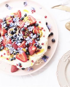 Looking forward to stepping on the scales after the holidays 😐. But let me tell you, this pavlova went down a treat! Pavlova, Acai Bowl, Told You So, Treats, Holidays, Breakfast, Food, Acai Berry Bowl, Sweet Like Candy