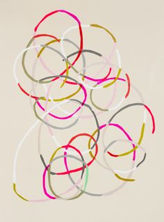 Cut Out, 2011, Kirra Jamison, vinyl and acrylic on  paper, 76 x 56 cm., Australia