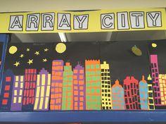 Array city - crafty maths