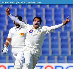 """Pakistan is on the top side in 1st day of test match vs Sri Lanka.  Pakistan seamers in Abu Dhabi after a manic second session to seize control of the Sri Lankan batting unthreatening conditions shredded. Junaid Khan,during which he picked up three wickets to debutant Bilawal Bhatti post lunch was magical – a in two of them. Twitter feed was filled with the question: """"What they ate for lunch."""" http://cricketoverflow.com/pakistan-is-on-the-top-side-in-1st-day-of-test-match-vs-sri-lanka/"""