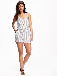 Printed Romper for W