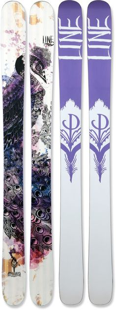 POWDER skis!   Line Pandora Skis - Women's - 2012/2013