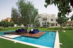The garden in Al Barari