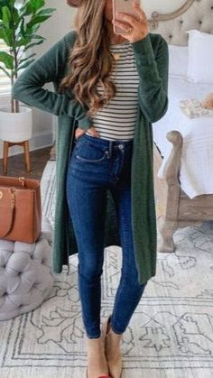 Komplette Outfits, Fall Fashion Outfits, Casual Fall Outfits, Fall Fashion Trends, Fall Winter Outfits, Look Fashion, Winter Fashion, Womens Fashion, Fashion Ideas