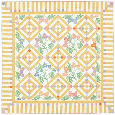 Cottage Charm Quilting Pattern from the Editors of American Patchwork & Quilting