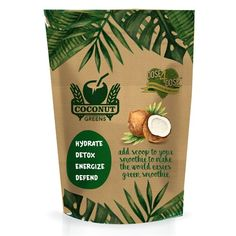 Create stunning new packaging and label for Coconut Greens Design by Luabaunza