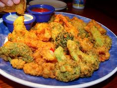 Fried Broccoli ~RED Lobster Style~ Yummy! | LUUUX
