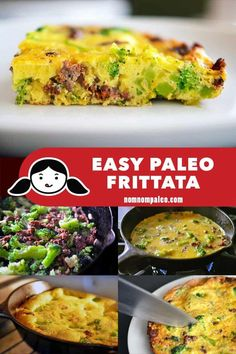 Paleo Frittata Leftover makeovers are my jam! You can essentially turn any leftover meat into a frittata and supper is done!Leftover makeovers are my jam! You can essentially turn any leftover meat into a frittata and supper is done! Nom Nom Paleo, Recetas Whole30, Paleo Frittata, Frittata Recipes, Dieta Paleo, Whole 30 Breakfast, Paleo Breakfast, Breakfast Recipes, Clean Eating Snacks