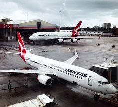 Qantas Sydney Airport