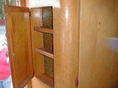 1955 Shasta corner closet cabinet