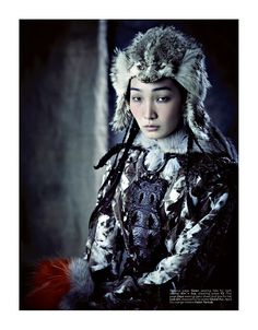 Shaman Fashion, with amazing furs... yessssss