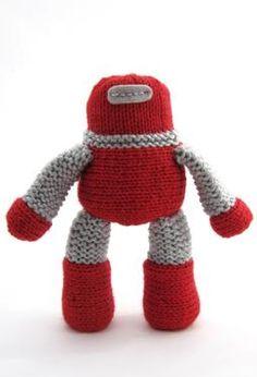 Robot - Knitting Patterns by Natty Knits