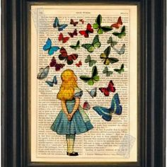 The Life of Stuff   Personal and Irish Lifestyle Blog: forgottenpages alice in wonderland butterfly 360x360 Win a Fabulous Pat Byrne Forgott...