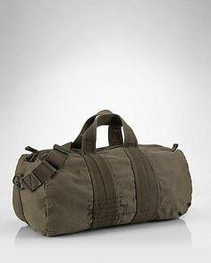 537229c6181b Polo Ralph Lauren Mountain Expedition Canvas Barrel Duffle Bag