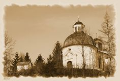 'Kapelle' von hako bei artflakes.com als Poster oder Kunstdruck $16.63