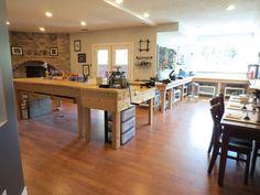 Jewelry Studio and Classroom Progress - Kelsis Closet Jewelbox Design Journal