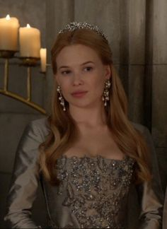 (The Consummation) Greer at the wedding (my favorite dress!)