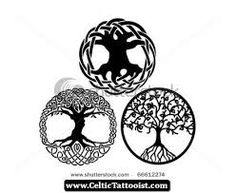 celtic tree of life tattoo design viking pinterest. Black Bedroom Furniture Sets. Home Design Ideas