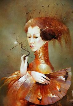 Anne Bachelier 1949 - French Surrealist -