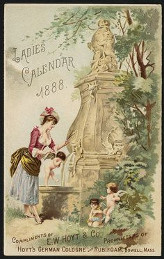 Ladies Calendar 1888 [back] | Flickr - Photo Sharing!