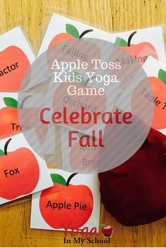 Packed with autumn inspired yoga poses and breathing techniques you can play individually or in teams. #fall #teach #kidsyoga #edu #classroomyoga FREE for YIMS Teacher's Lounge Members http://bit.ly/1LXbjmJ