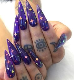Nail design can immediately improve your mood, will you believe what we are saying?, nail art blog foil nails,2019 nail art,Nail shape,pointed nails,oval nails,square nails,round nails , nail art blog