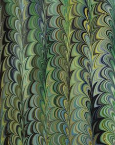 Marbled Paper by marbling artist Susan Pogany. uploaded to pinterest by the artist