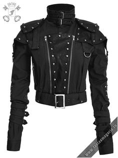 Violent Delights Gothic, Steampunk And Dieselpunk Clothing. The Widest Range Of Dark Alternative Clothes By Punk Rave, Devil Fashion, Pentagramme And RQ-BL, With Free UK Delivery And Fast Worldwide Shipping. Punk Outfits, Gothic Outfits, Fashion Outfits, Dark Fashion, Gothic Fashion, Metal Fashion, Lolita Fashion, Punk Jackets, Short Jackets