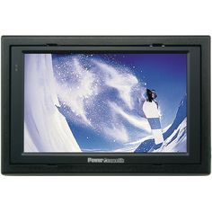 "7"" Widescreen Headrest Monitor Auto Movies Video Input On Screen Display"