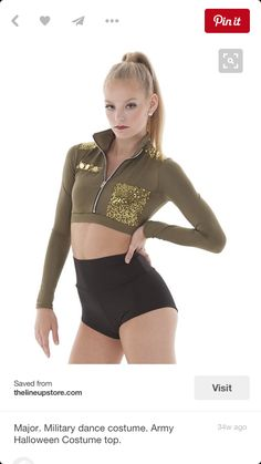 Paige has a solo also. She will wear this and will be dancing to Salute by Little Mix