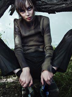 Photographer: Noah Beyene Stylist/designer: Leonard Kocic Hair & makeup: Sara Eriksson